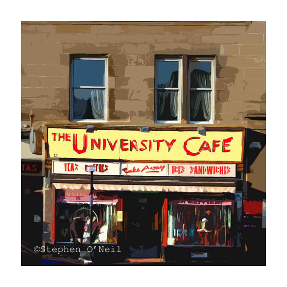 The University Café: Glasgow, Italy and Ice Cream