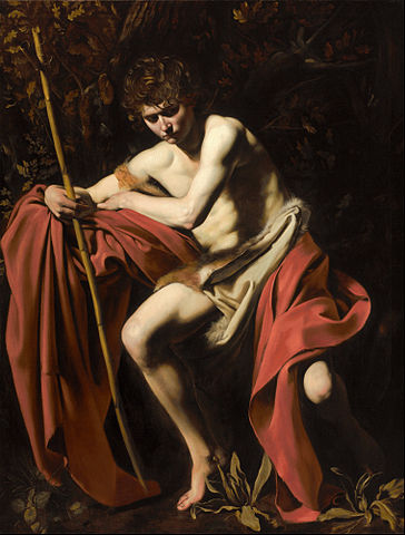 Caravaggio's Saint John the Baptist in the Wilderness
