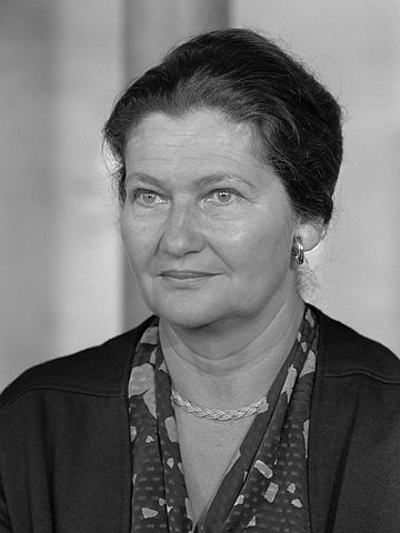 Simone Veil, French politician, women's rights activist and Holocaust survivor