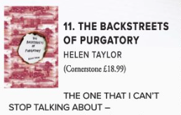 The Backstreets of Purgatory in 17 Degrees Magazine