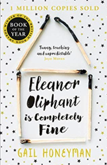 Cover of the novel Eleanor Oliphant is Completely Fine by Gail Honeyman