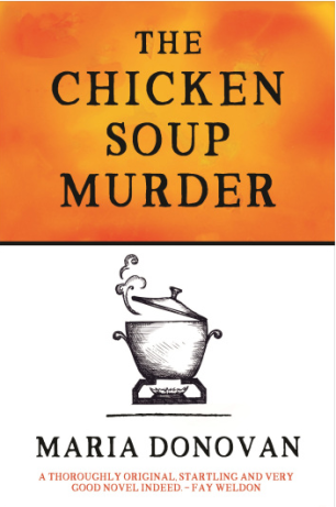 Cover of The Chicken Soup Murder by Maria Donovan